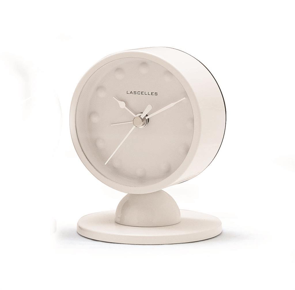 Alarm Clock Modern White Alarm Clock On Stand 10 2 X 8cm