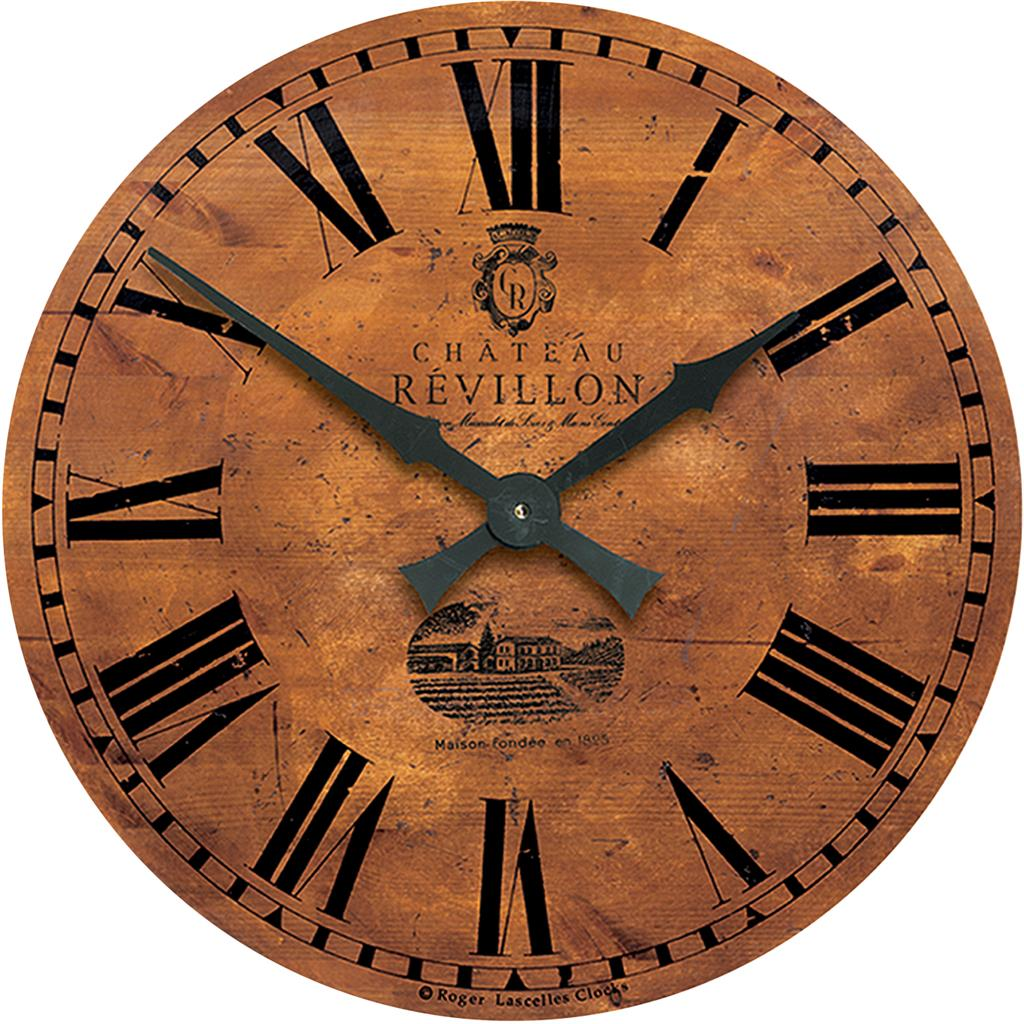 large vineyard french wall clock 50cm. Black Bedroom Furniture Sets. Home Design Ideas