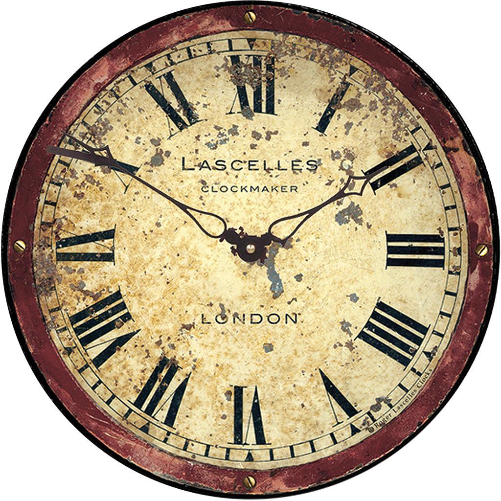 London Antique Dial Wall Clock 36cm