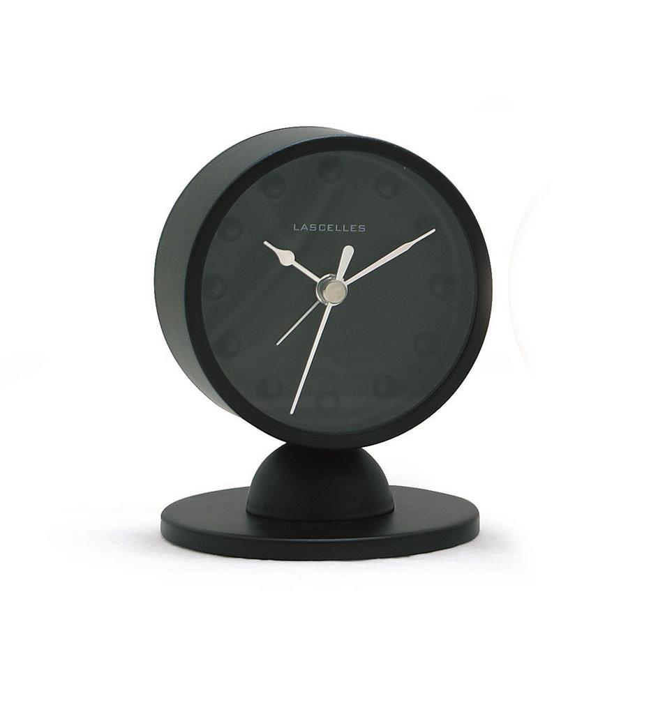 Alarm Clock Modern Black Alarm Clock On Stand 10 2 X 8cm
