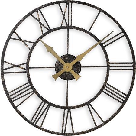 Outdoor/Indoor Clock with Metal Case - 50cm
