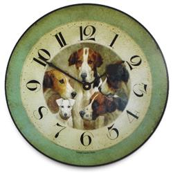 Four Kings & a Knave, Wall Clock - 36cm
