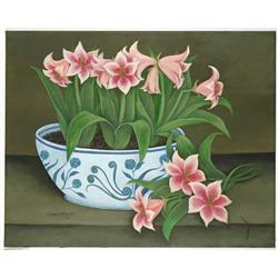 Bowl of Amaryllis
