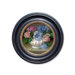 Hydrangeas in China Vase
