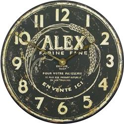 Alex 'Flour Maker' Wall Clock - 36cm
