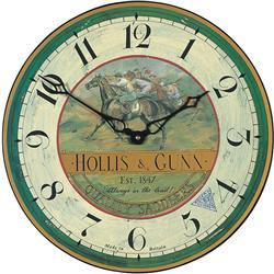 Country Races Wall Clock - 36cm