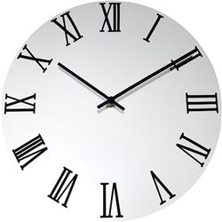 Classic Mirror Faced Clock - 36cm