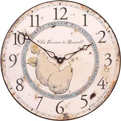 Pears of Provence French Wall Clock - 36cm