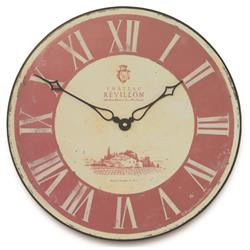 French  Revillion Vineyard Clock - 36cm