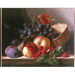 Still life with basket