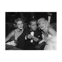 BVL337 - Marilyn Monroe, Humphrey Bogart, Lauren Bacall at Ciro's Nightclub (20x16