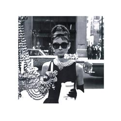 Shopping at Tiffanys (16 x 16