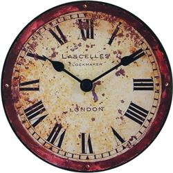 London Antique Dial Clock - 15cm