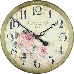 Large 'Florist' Gallery Clock - 50cm