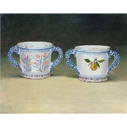 Two fine china cups