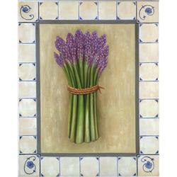 Asparagus in Tile Border