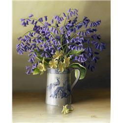 Bluebells in Jug