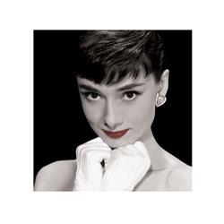 Audrey Hepburn, Red Lips  (16 x 16