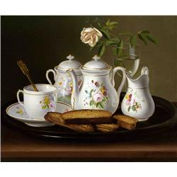 Tea Set and Bread