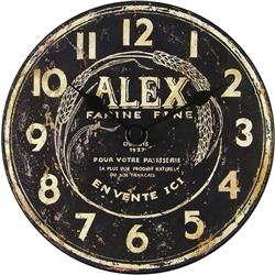 Alex 'Flour Maker' Table Clock - 15cm