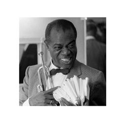 Louis Armstrong (16 x 16