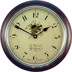 Classic Wooden Wall Clock, Crediton Design - 26.7cm