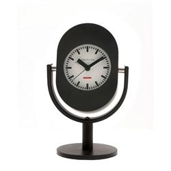 Retro Microphone Alarm Clock in White 16.7cm