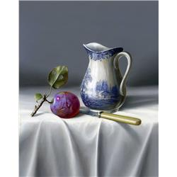 Jug and Plum