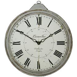 Antique Fob Style Wall Clock - 43cm