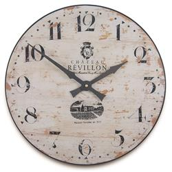 French Cream Chateau Vineyard Clock - 36cm