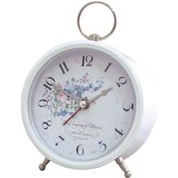 White Alarm with Rose Dial