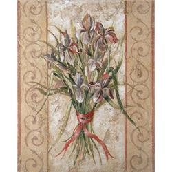 Fresco 'Lillies'