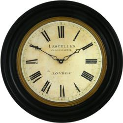 Traditionally Framed Lascelles Dial Clock - 50cm