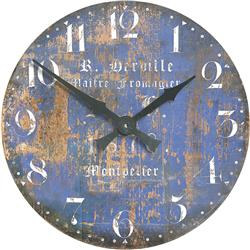 Large Montpellier Cheesemaker's French Wall Clock - 49.6cm