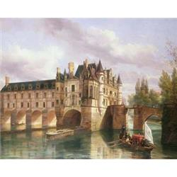 View of Chateau on River