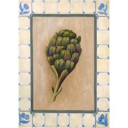 Artichoke in Tile Border