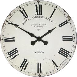 Extra Large Greenwich Dial in Cream - 70cm