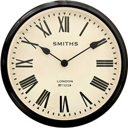Large Smiths  Station Clock - 50cm