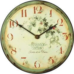 French Vineyard Wall Clock - 36cm