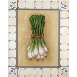 Onions in Tile Border
