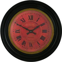 Traditionally Framed Moore Dial Clock - 50cm