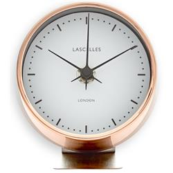 Modern Style Copper Alarm Clock on Stand