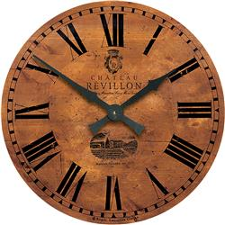 Large vineyard French wall clock - 50cm