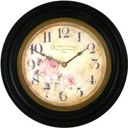 Traditionally Framed Florist Dial Clock - 50cm