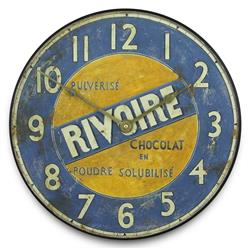 Chocolate maker 'Rivoire' Wall Clock - 36cm