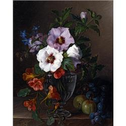 Still Life in Glass Vase