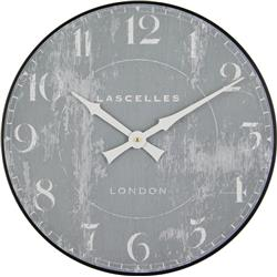 LASCELLES GREY WALL CLOCK - 50CM