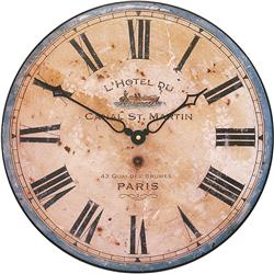 French hotel design wall clock - 36cm