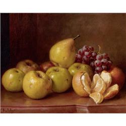 Still Life with Oranges, apples