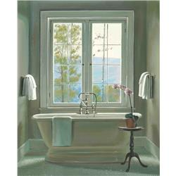 Cream Bath and Window